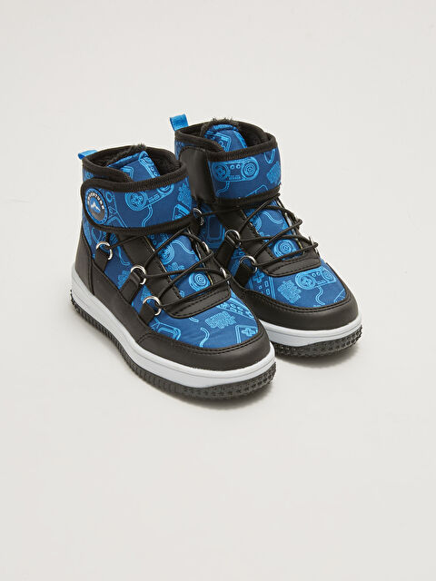 Lace-Up and Velcro Ankle Boys Boots - LC WAIKIKI