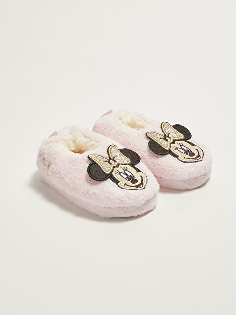 Minnie Mouse Licensed Baby Girl Slippers - LC WAIKIKI
