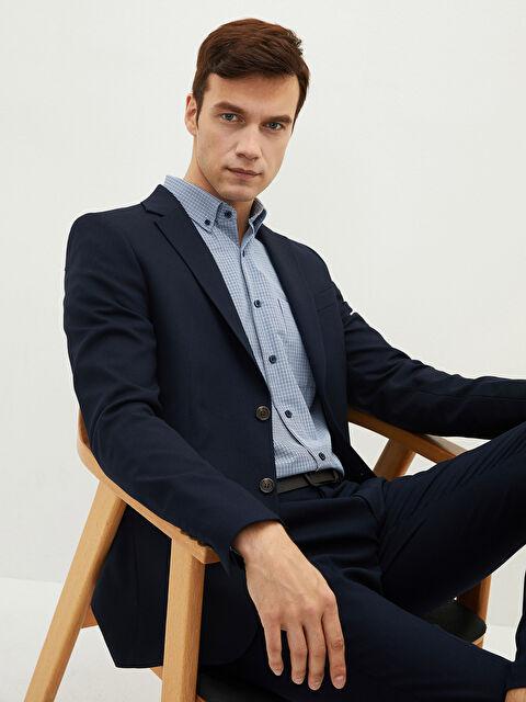 LCW CLASSIC Slim Fit Men's Blazer Jacket - LC WAIKIKI