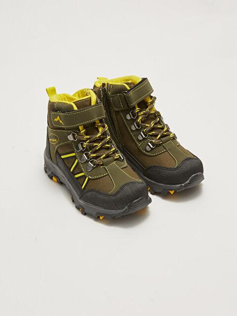 Velcro Lace-up Boys Trekking Boots - LC WAIKIKI