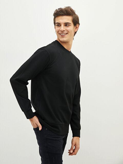 LCW CASUAL Crew Neck Long Sleeve Men's Sweatshirt - LC WAIKIKI