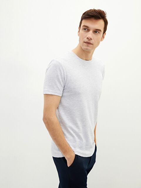 LCW CLASSIC Crew Neck Short Sleeve Basic Men's T-Shirt - LC WAIKIKI