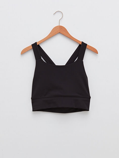 LCW ACTIVE Women's Sports Supported Bustier with Straight Cross Straps - LC WAIKIKI
