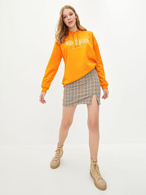 LCW CASUAL Zippered Waist Plaid Women's Mini Skirt - LC WAIKIKI