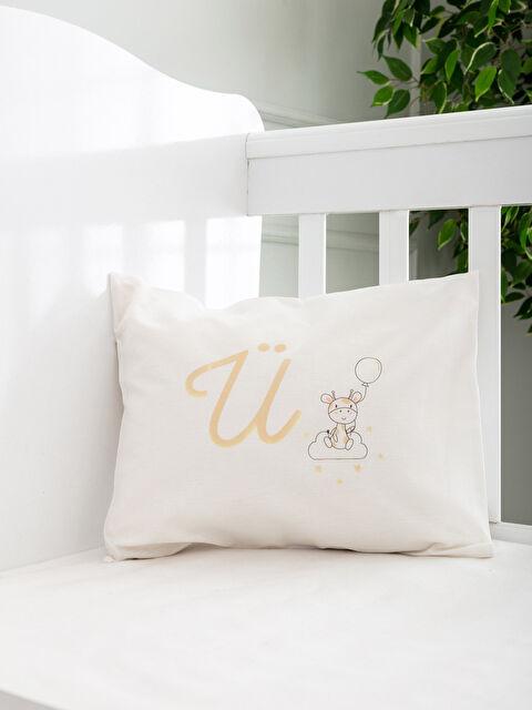 Ü Harfi Baskılı Bebek Yastık Kılıfı - LCW HOME