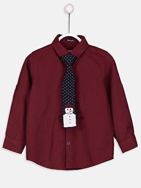 Erkek Çocuk Pamuklu Gömlek ve Kravat - LC WAIKIKI