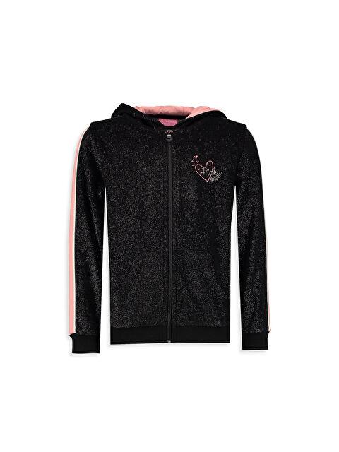 Kadife Fermuarlı Sweatshirt - LC WAIKIKI