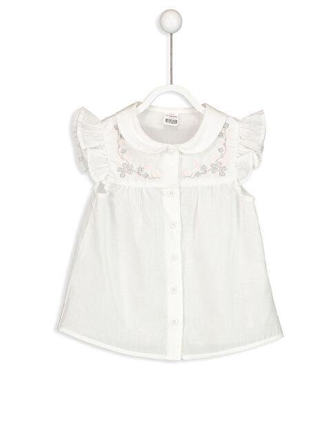 Kız Bebek Vual Gömlek - LC WAIKIKI