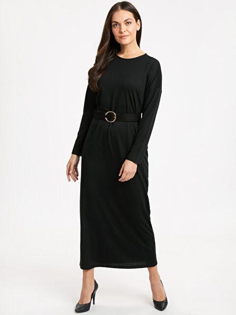 Düz Kesim Uzun Elbise - LC WAIKIKI