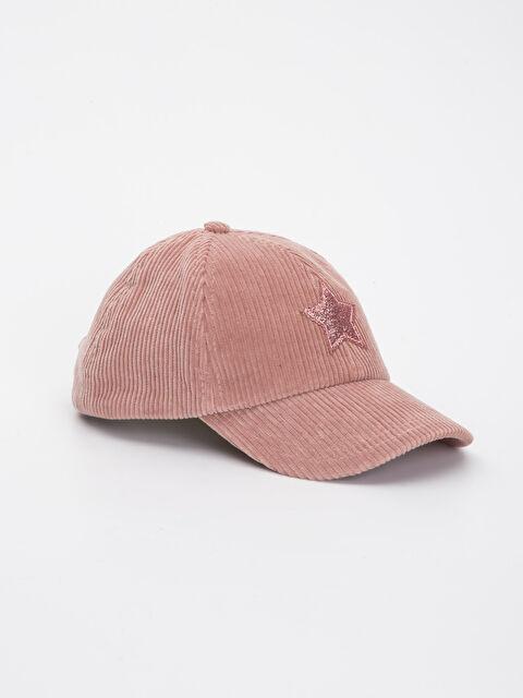 Kız Çocuk Kadife Şapka - LC WAIKIKI