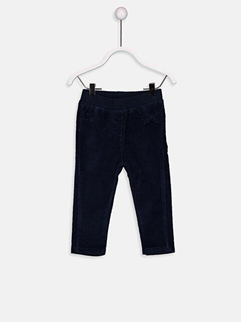 Kız Bebek Fitilli Kadife Pantolon - LC WAIKIKI