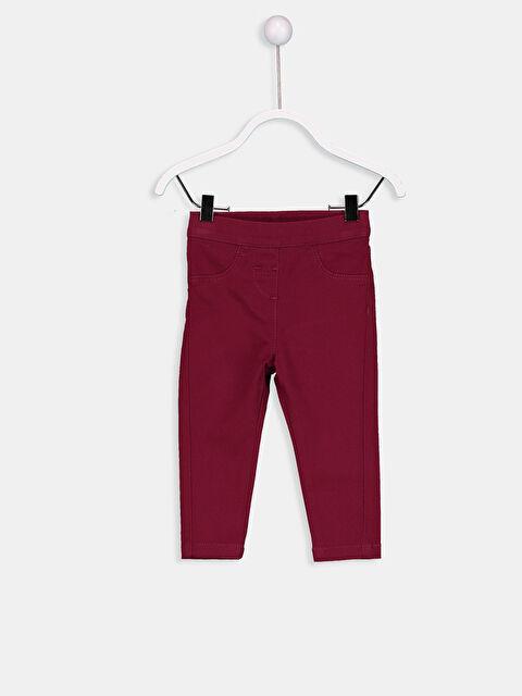 Kız Bebek Gabardin Pantolon - LC WAIKIKI