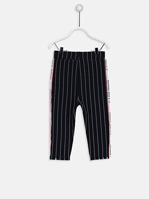 Erkek Bebek Yanları Slogan Detaylı Pantolon - LC WAIKIKI