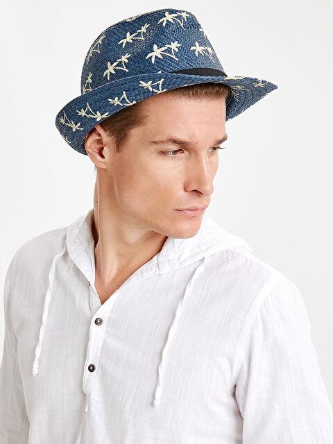 Aile Koleksiyonu Baskılı Hasır Şapka - LC WAIKIKI