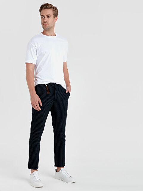 Slim Fit Bilek Boy Poliviskon Pantolon - LC WAIKIKI
