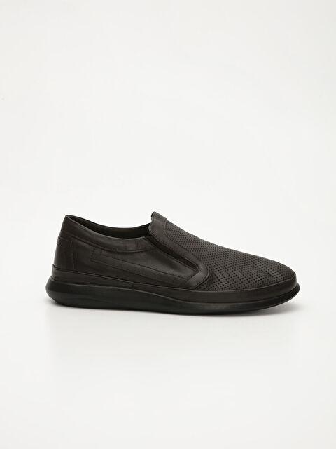 Erkek Slip On Hakiki Deri Ayakkabı - LC WAIKIKI