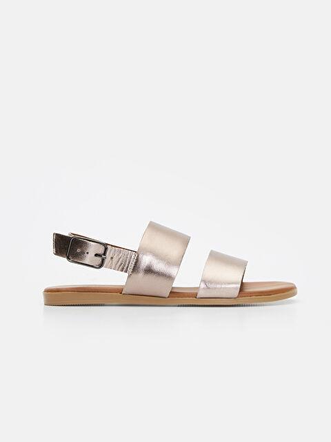 Kadın Hakiki Deri Sandalet - LC WAIKIKI
