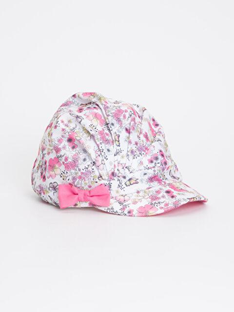 Kız Çocuk Desenli Şapka - LC WAIKIKI
