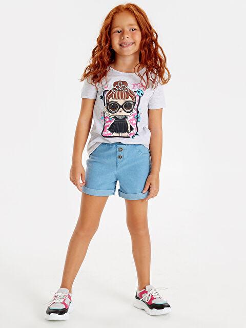 Kız Çocuk Lol Bebek Baskılı Tişört - LC WAIKIKI