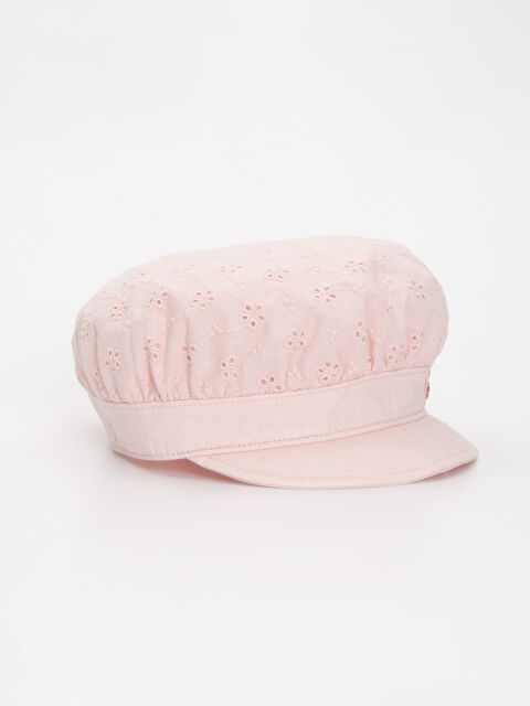 Kız Bebek Pamuklu Şapka - LC WAIKIKI