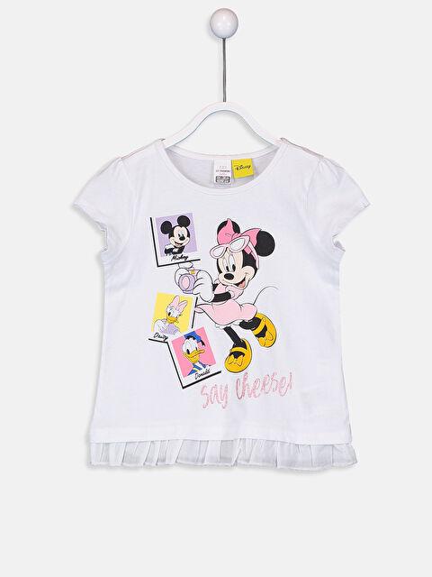 Kız Bebek Disney Baskılı Tişört - LC WAIKIKI