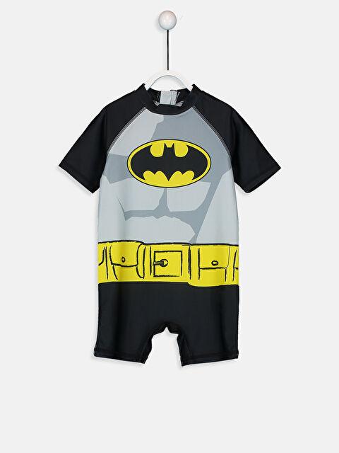 Erkek Bebek Batman Baskılı Tulum Mayo - LC WAIKIKI