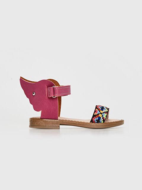 Kız Bebek Desenli Sandalet - LC WAIKIKI