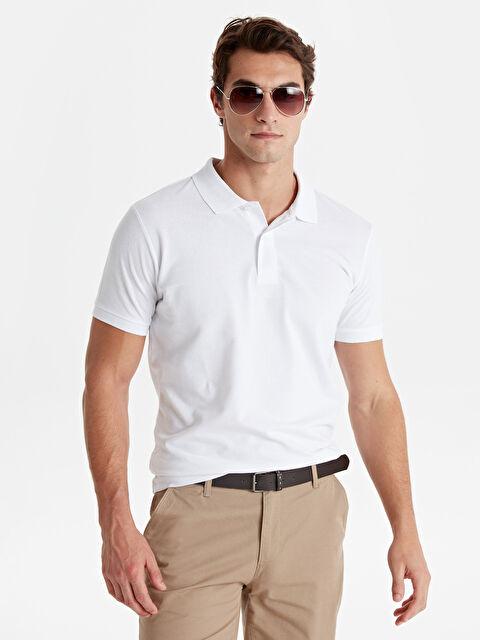 Polo Yaka Kısa Kollu Basic Pike Tişört - LC WAIKIKI