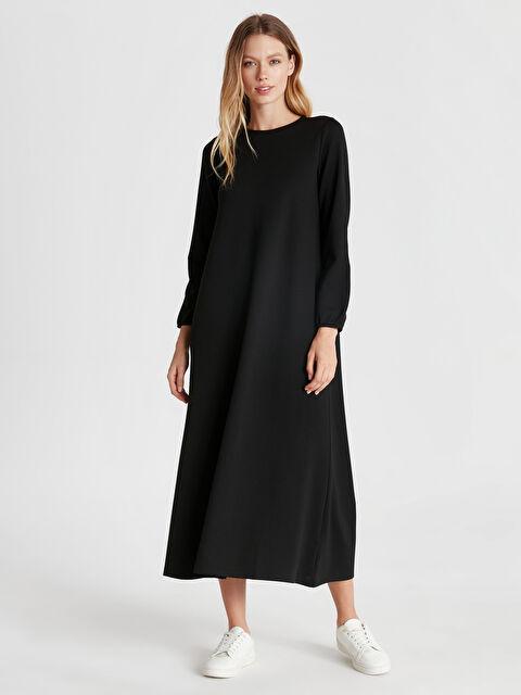 Düz Basic Uzun Salaş Elbise - LC WAIKIKI