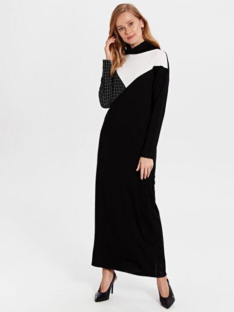 Renk Bloklu Oversize Elbise - LC WAIKIKI