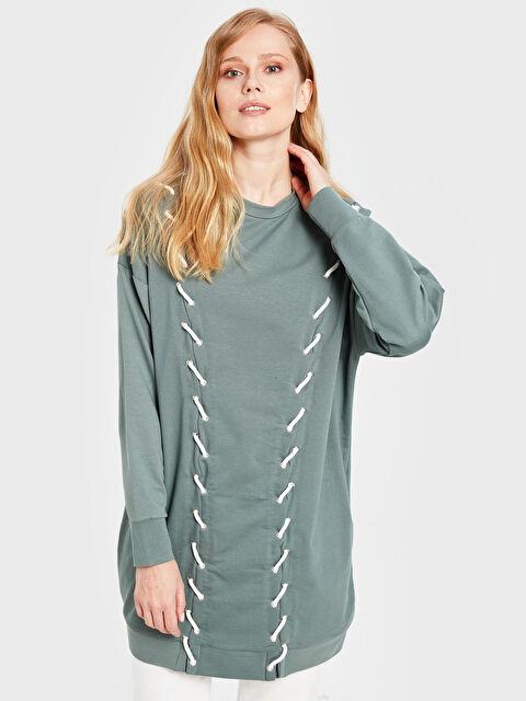 Soul By Loreen Kuş Gözü Detaylı Detaylı Sweatshirt - Markalar