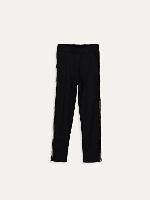 Kız Çocuk Pamuklu Pantolon - LC WAIKIKI