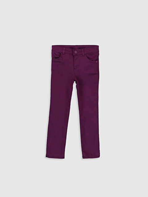 Kız Çocuk Boru Paça Pantolon - LC WAIKIKI