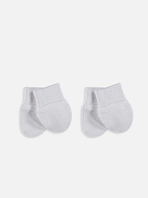 Kız Bebek Pamuklu Eldiven Takımı 2'li - LC WAIKIKI