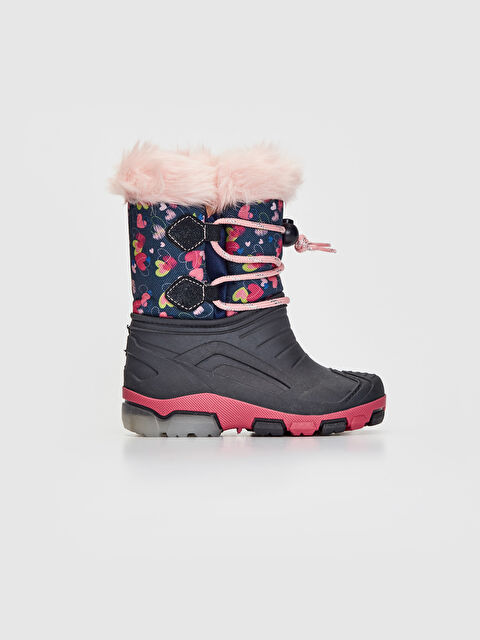Baby Girl Fur Lined Thick Sole Boots - LC WAIKIKI