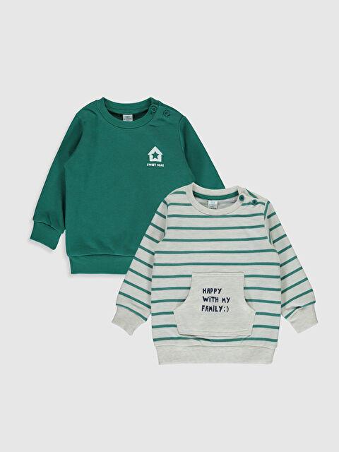 Erkek Bebek Kalın Sweatshirt 2'li - LC WAIKIKI