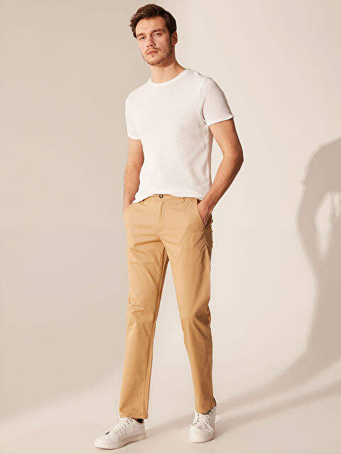 Normal Kalıp Gabardin Chino Pantolon - LC WAIKIKI