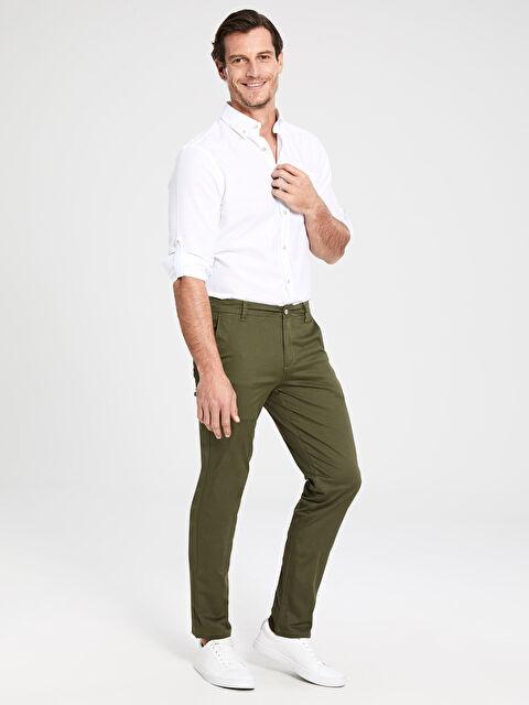 Slim Fit Gabardin Chino Pantolon - LC WAIKIKI