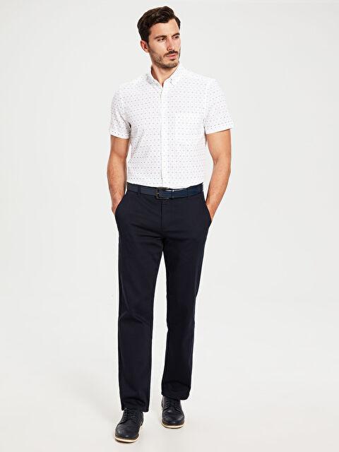 Regular Fit Armürlü Pantolon - LC WAIKIKI