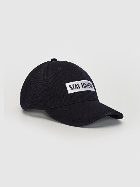Yazı Nakışlı Şambre Şapka - LC WAIKIKI