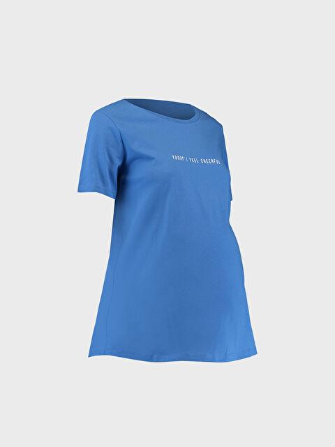 Slogan Baskılı Hamile Tişört - LC WAIKIKI