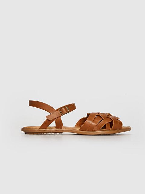 Kadın Örgü Desenli Sandalet - LC WAIKIKI