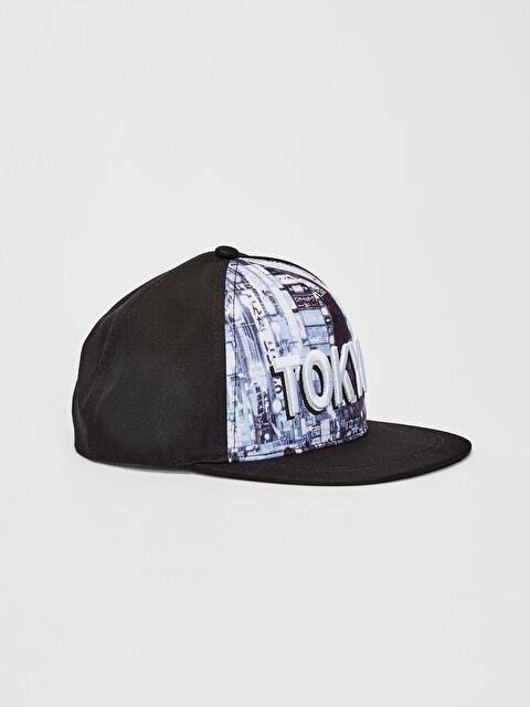 Erkek Çocuk Yazı Nakışlı Hip Hop Şapka - LC WAIKIKI