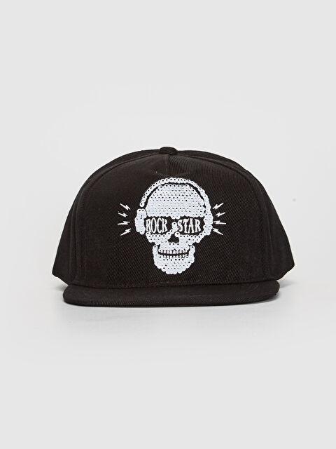 Erkek Çocuk Payet Detaylı Hip Hop Şapka - LC WAIKIKI