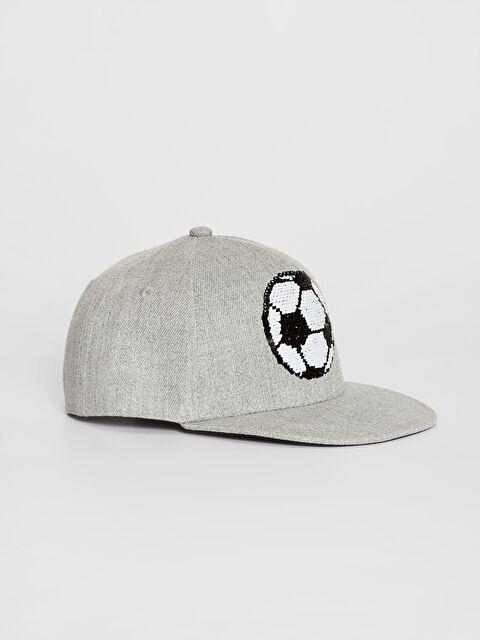 Erkek Çocuk Çift Taraflı Pul Payetli Şapka - LC WAIKIKI