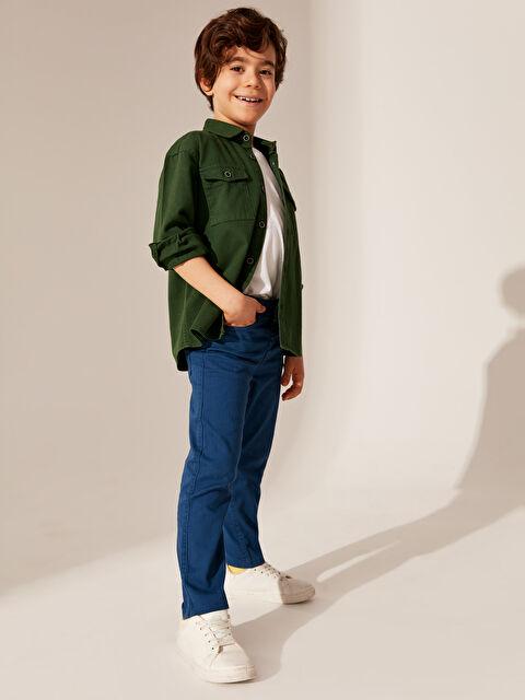Erkek Çocuk Slim Gabardin Pantolon - LC WAIKIKI