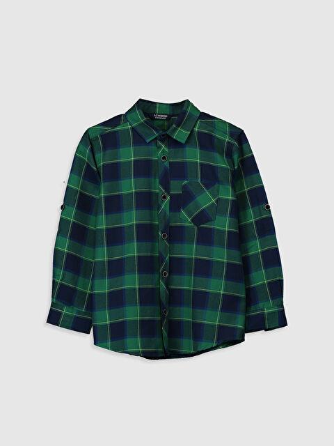 Kareli Uzun Kollu Gömlek - LC WAIKIKI