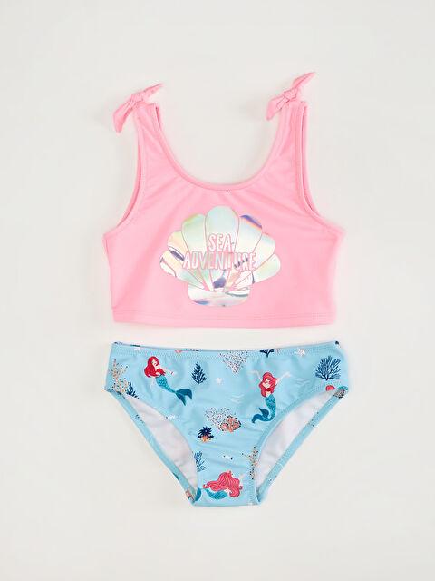 Kız Çocuk Baskılı Bikini - LC WAIKIKI