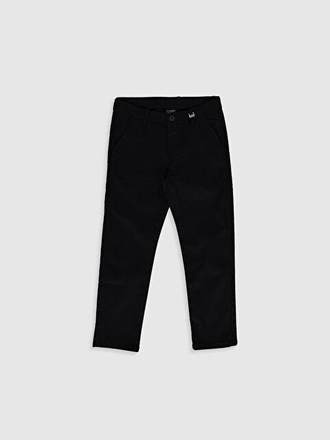 Erkek Çocuk Armürlü Slim Pantolon - LC WAIKIKI
