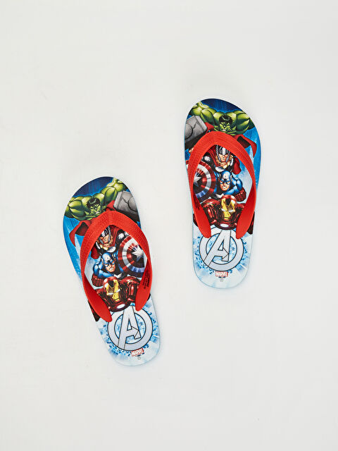 Erkek Çocuk Avengers Baskılı Plaj Terliği - LC WAIKIKI